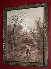 Vincenz HAVLICEK (1864-1914) Landschaft mit Pferden.