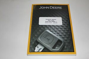 JOHN DEERE 544J LOADER SERVICE REPAIR MANUAL SN 611800-