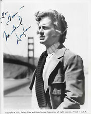 """MICHAEL DOUGLAS in STREETS OF SAN FRANCISCO (1975) Hand-signed 10"""" x 8"""" portrait"""
