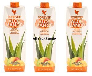 3 Forever Aloe Mango -33.8 fl.oz(1 Liter)