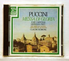 CLAUDIO SCIMONE - PUCCINI Messa di gloria ERATO CD W.Ger FULL SILVER no IFPI NM