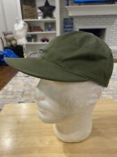 Acetronaut Green Space Cap 7 1/4 Baseball Hat Made In The USA Rare Vintage Cap