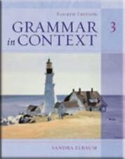Grammar In Context 3 by Sandra N Elbaum