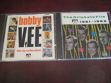 BOBBY VEE + CRICKETS EP & FILE COLLECTION RARE OUT OF PRINT SEE FOR MILES CD SET