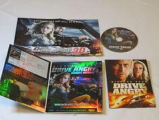 Drive Angry Conduite Infernale Nicolas Cage 1080P Blu Ray Disc DVD 2010 RARE