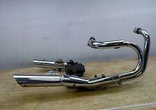 1983 Honda Shadow VT500 H1590. complete exhaust headers mufflers tail pipes