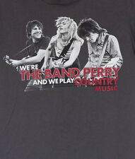 The Band Perry We Play Country Music Concert Tour Gray T-Shirt M