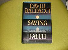 DAVID BALDACCI SIGNED SAVING FAITH