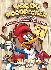 The Woody Woodpecker and Friends Classic Cartoon Collection Vol. 2. 3 DVD nuevo.