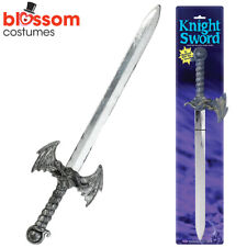 A730 Knight Sword Crusader Toy Sword Gladiator Roman Medieval Costume Accessory