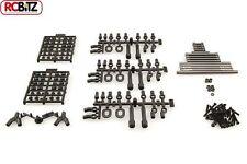 "SCX10 TR UPGRADED Steering Suspension METAL Links 11.4"" 290mm ALL Hardware inc"