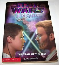 2002 Star Wars Jedi Quest #2 The Trial of the Jedi Scholastic Paperback Book