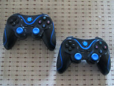 2x Wireless Controller Playstation 3 PS3 kompatibel Joypad Gamepad Vibration NEU