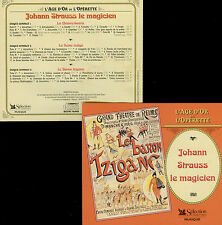 JOHANN STRAUSS  le magicien  3 OPÉRETTES - SIBERT / 3 CDS
