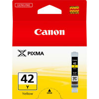 Genuine Canon CLI-42Y 6387B001 Yellow Ink Cartridge for Pixma Pro 100