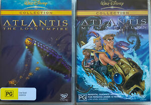 Kids DVD: Walt Disney's Atlantis Series + The Lost Empire + Milo's Return