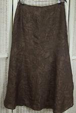 """PER UNA Long Skirt 34""""W 14L Full Shimmery Italian Fabric Maxi Skirt 39""""L"""