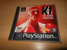 ps1 playstation JEU K-1 the Arena Fighters - COMME NEUF Collectors version PAL