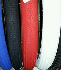 CHOOSE A COLOR, 2 NEW DURO BMX BICYCLE TIRES,18X1.95,THICK ,CLEAN, ...