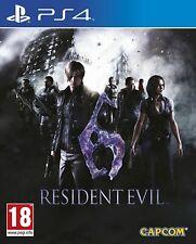 Residente Evil 6 (ps4) (nuevo embalaje original &) (Uncut) (envío rápido)