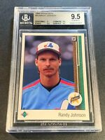 RANDY JOHNSON 1989 UPPER DECK #25 STAR ROOKIE RC BGS 9.5 GEM MINT MLB HOF