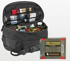 K-9 Tactical Field Kit w/Celox Gauze - Black - Authorized Distributor