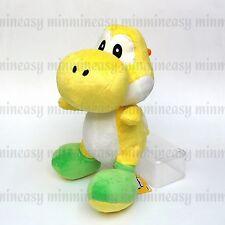 """Nintendo Super Mario Bros Yoshi 12"""" Soft Doll Stuffed Toy Figure Plush Yollew"""
