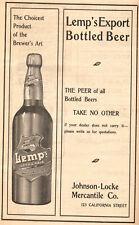 Ben Hur 1903 San Francisco Opera House Program Lemp Weiland Schlitz Beer+ Ads