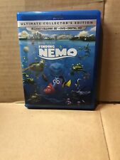 Finding Nemo 3D Blu Ray $ Blu Ray & Dvd Set (No Digital) Duscs Are Brand New!