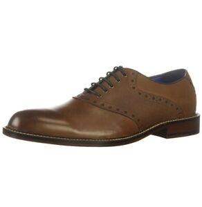 Men WINTHROP Phillips Saddle Oxford Leather cognac brown