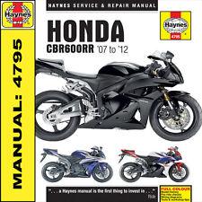 Haynes Honda CBR600RR 2007-2012 Manual 4795 NEW