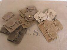Original Sac à cartouches Webley Mag Pouch .303 britannique Armée de terre Lee