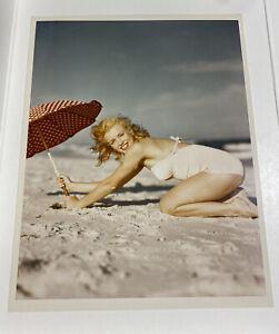1949 Marilyn Monroe Andre De Dienes Stamp Original Photo Tobay Beach