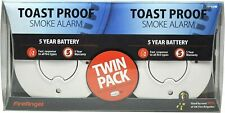 FireAngel 5 Year Battery Smoke Alarm Twin Pack TST-625R Brand New