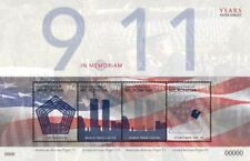 Micronesia- September 11, 10th Memorial Anniversary Stamp Sheet of 4 Mnh