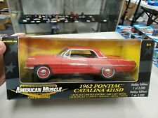 American Muscle Ertl  1962 Pontiac Catalina 421SD - 1:18 Diecast Limited Edition