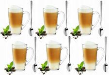 Superset 6 Latte Macchiato Gläser 400ml und 6 Löffel Kaffeegläser Teegläser  HIT