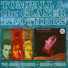 The Award Winners/Rings and Things by Tompall & the Glaser Brothers (CD, Mar-2012, Hux Records (Label))
