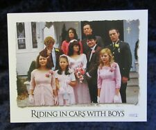 RIDING IN CARS WITH BOYS lobby cards DREW BARRYMORE mini set of 8