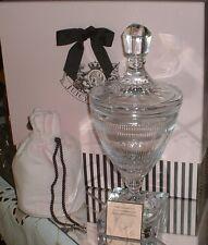 JUICY COUTURE  Signed Numbered Ltd Edition  Perfumed Sea Salts & Crystal Vase