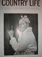 Sir William Orpen self-portrait 1925 old print