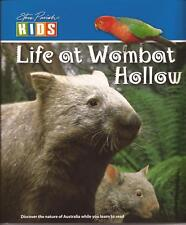 STEVE PARISH Story Kids Book LIFE AT WOMBAT HOLLOW Children's Reading Picture