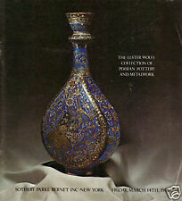 SOTHEBY'S Persian Islamic Pottery Metalwork Wolfe Coll