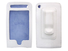 Gear4 Leather Jacket Pro White Leather Case Cover for iPhone 3g 3gs Belt Clip