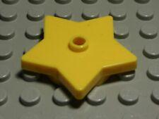 Lego Stern 4x4x0,6 Gelb                                                 (1237 #)
