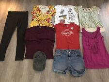 Girls Clothing Lot, 9 Items, Size 14/16 & Equivalent, Cat & Jack, Crimson Tide