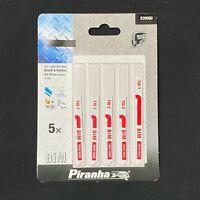 Nero & Decker Piranha X29090 'U' Codolo Bi-Metallo Seghetto Lame Metallo &