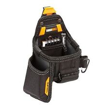 ToughBuilt Tool belt Pouch Tape Measure with Utility Knife Pouch, Black