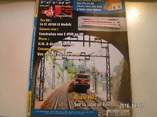 **g Loco revue n°722 CC 40100 LS Models H0 / Automotrice Z 4900 H0