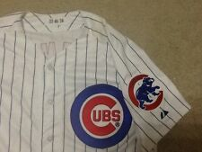 Chicago Cubs GAME USED JERSEY Carlos Villanueva Baseball MLB Authentic Size 46